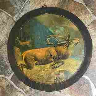 Early 1900's German Black Forest Hunting Target