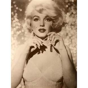 Marilyn Monroe Sepia Tone Photo Print