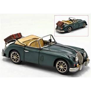 Vintage-style 1959 Jaguar Scale Model Car