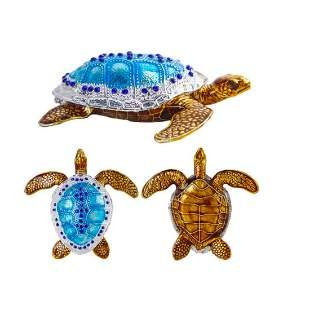 Sea Turtle Trinket Jewel Box
