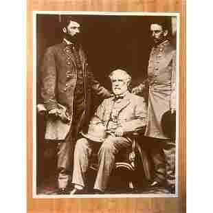 Confederate General Robert E Lee, Civil War, Photo