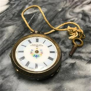Late 1800's Kay Worchester 15 Jewels Pocket Watch