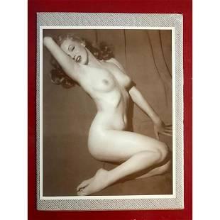 Nude Marilyn Monroe Photo Print