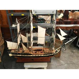 USS Essex Museum Quality Wooden Ship Model