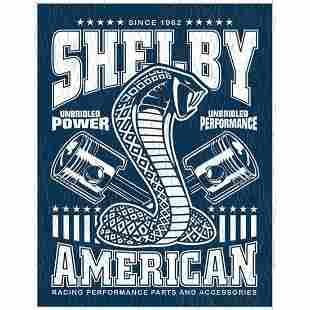 Shelby American Metal Garage Pub Bar Sign