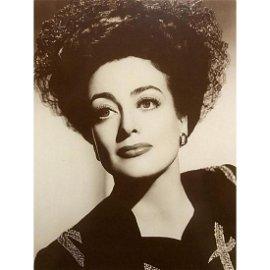 Joan Crawford Sepia Photo Print