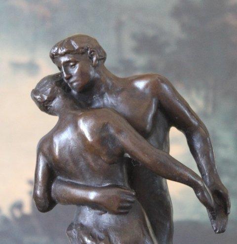 Stunning Dancers Bronze Sculpture