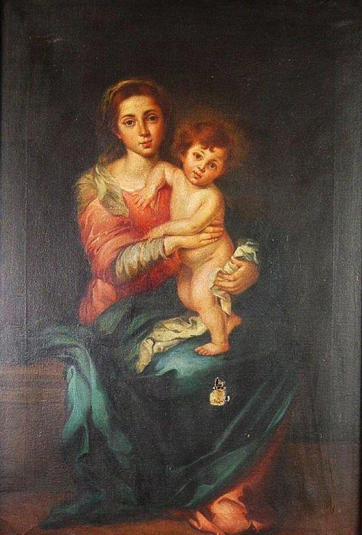 Madonna & Child by Esteban Murillo OOC