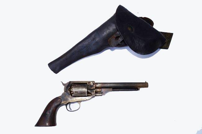 1858 Remington Caplock Revolver