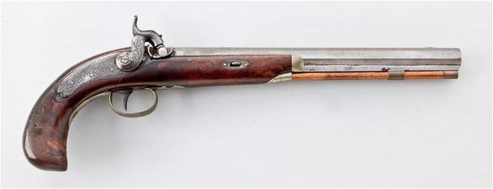 Henry & Son, NSNV, .36 cal. Percussion Pistol
