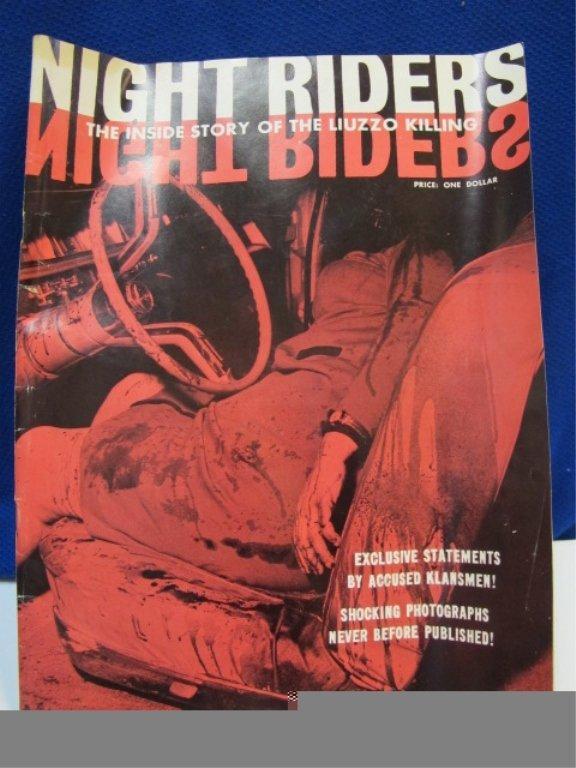 RARE Night Riders Klu Klux Klan Magazine