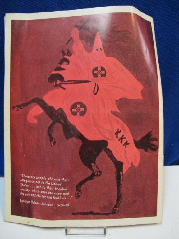RARE Night Riders Klu Klux Klan Magazine - 4