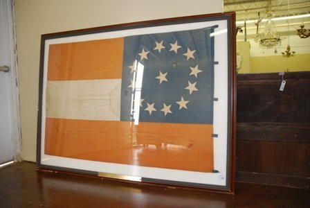 Confederate National Flag. Rare 13 Star