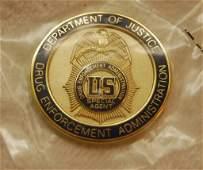 US Drug Enforcement Admin Special Agent Coin