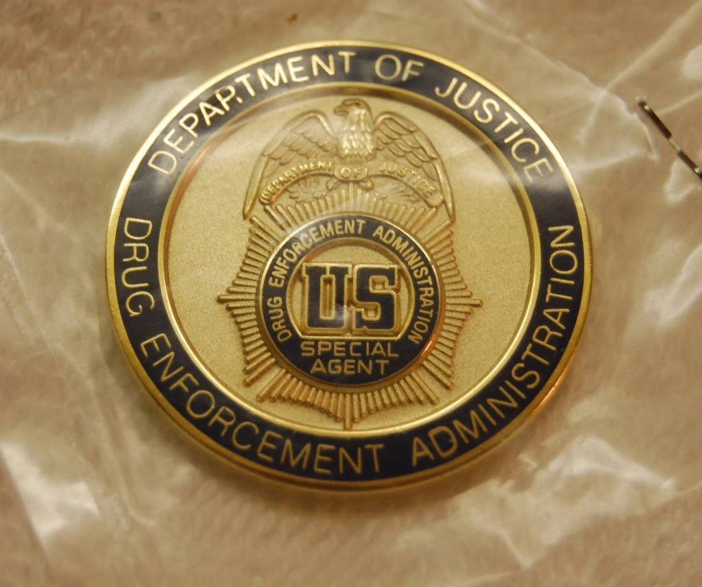 US Drug Enforcement Admin Special Agent Coin