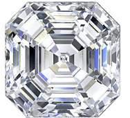 Bianco 8 Carat Asscher Cut Diamond