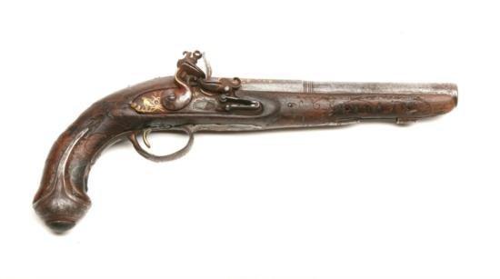 European - Flintlock - .58 cal - pistol