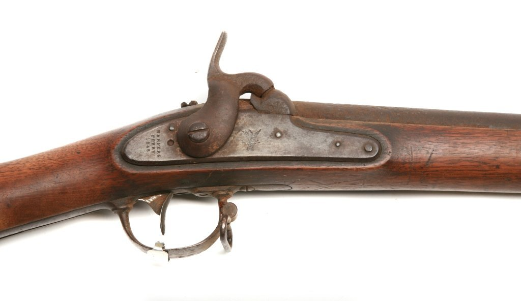 Harpers Ferry Model 1842 .69 percussion Rifle