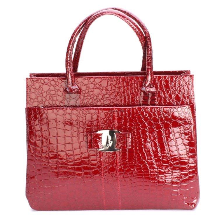 Women's Crocodile Pattern Handbag