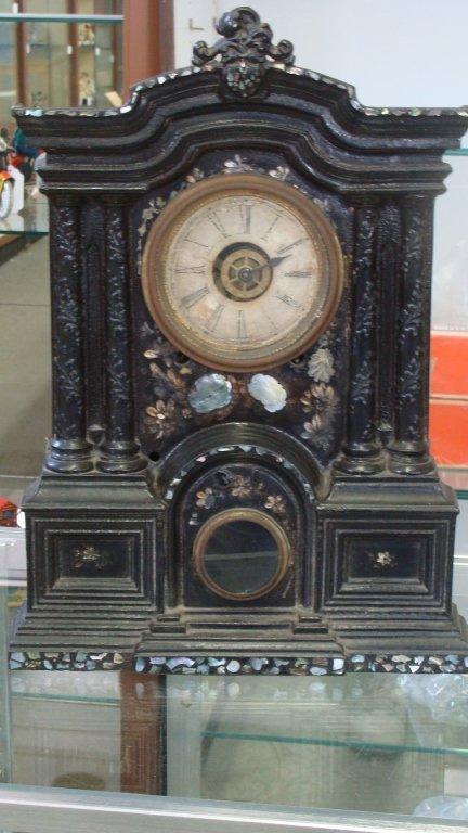 Rare Cast Iron Ansonia Mantel Clock