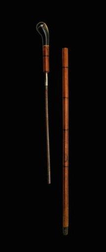 A SWORD CANE Italy, Kingdom, 19th Century