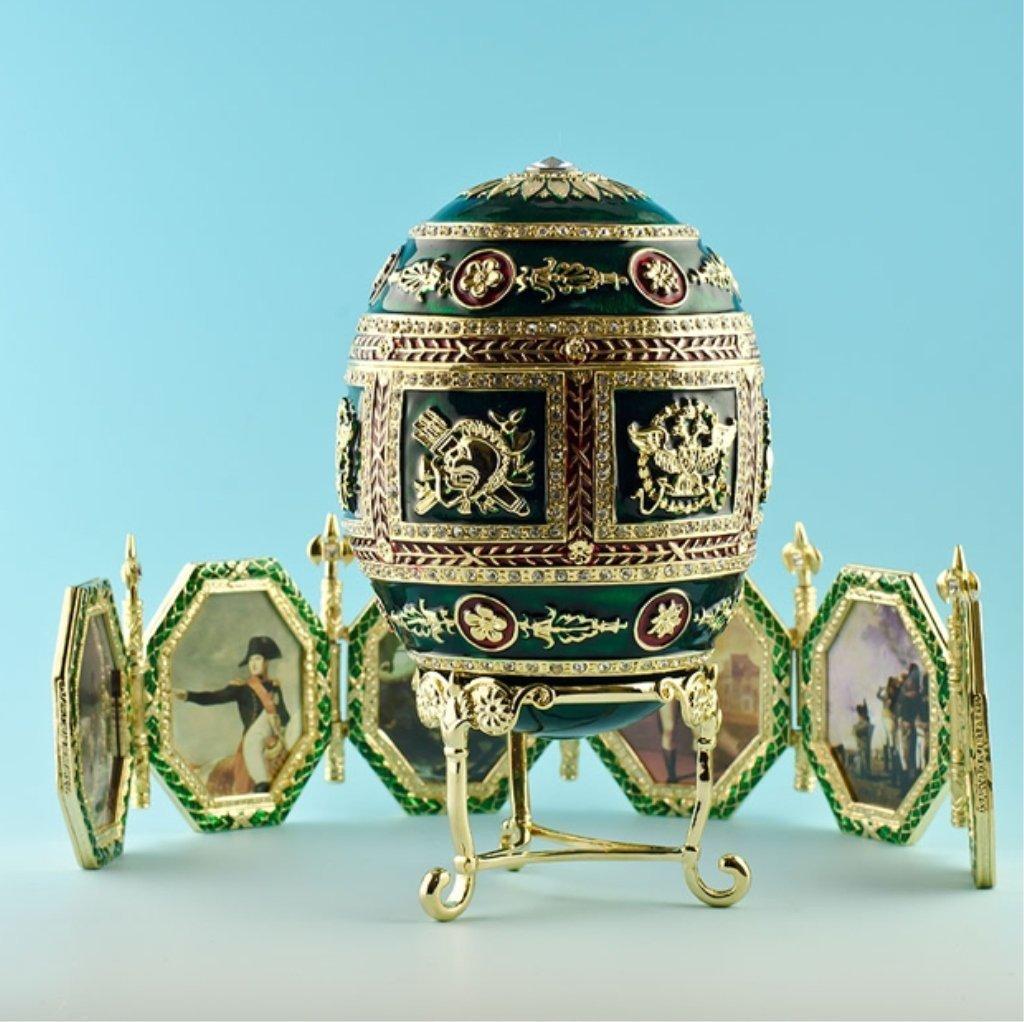 Napoleonic Faberge Inspired Egg