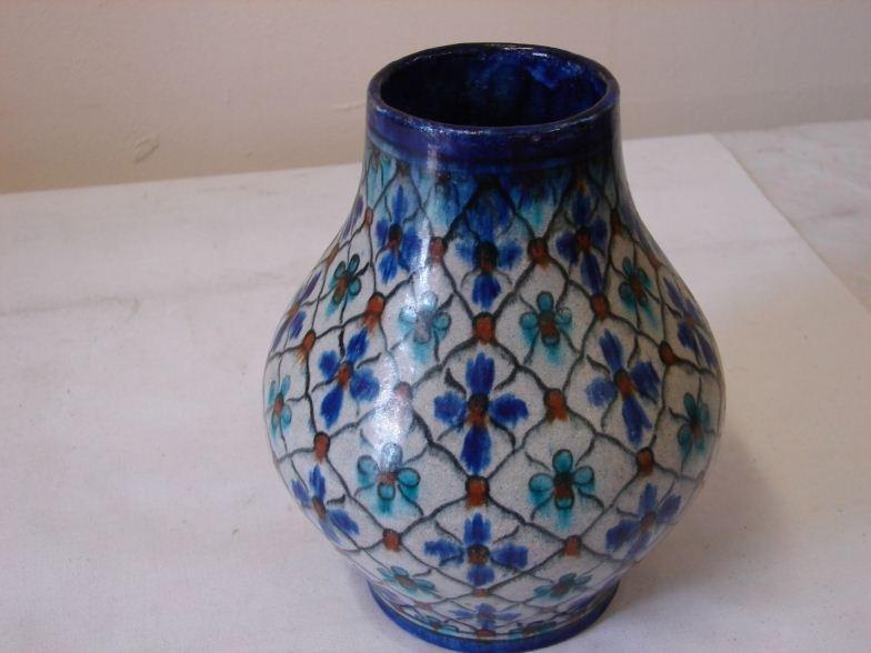 Persian / William De Morgan Style Isnic Vase