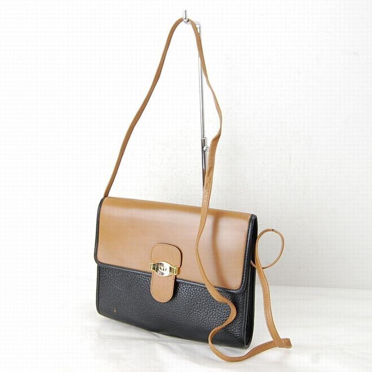 Christian Dior Black Leather Bag