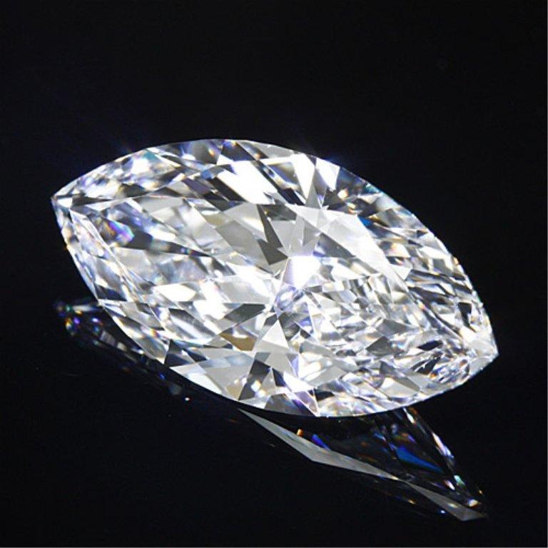 Bianco 4 Carat Marquise Cut Diamond