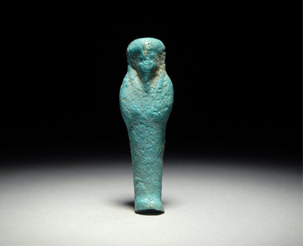 Ancient Egyptian Ushabti Figure 664BC