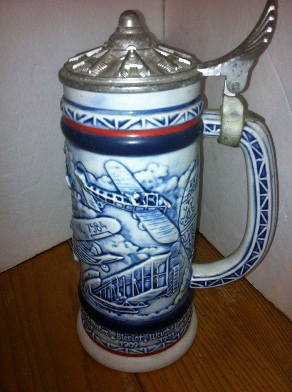 Vintage Avon Beer Stein Pewter Lid