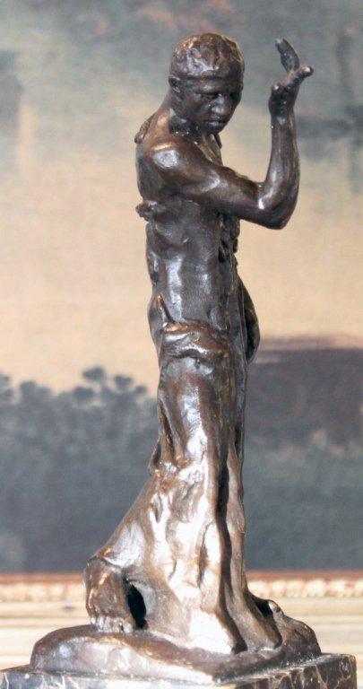 Erotic Nude Male Bronze Sculpture