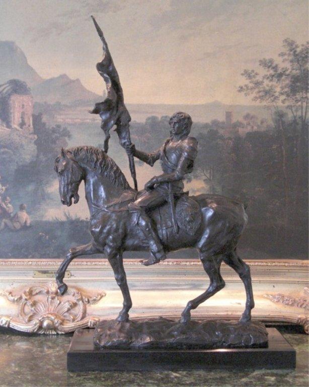 Marvelous Bronze Sculpture The Patriot