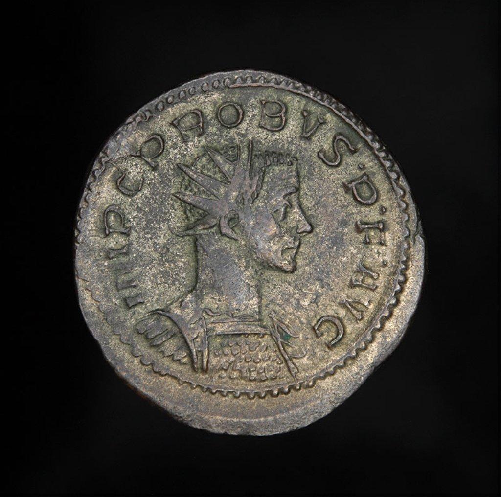 Ancient silver Roman Coin of Emperor Probus