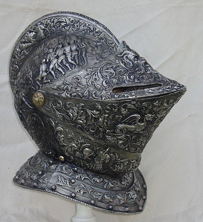 Valentine Armor Museum Helmet