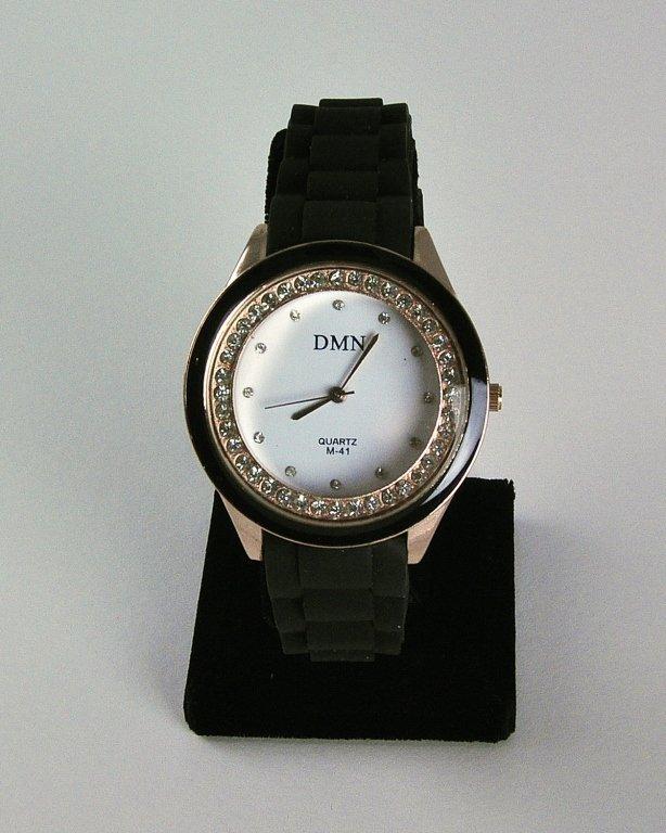Elegant Casual Lady's Watch W/rhinestones