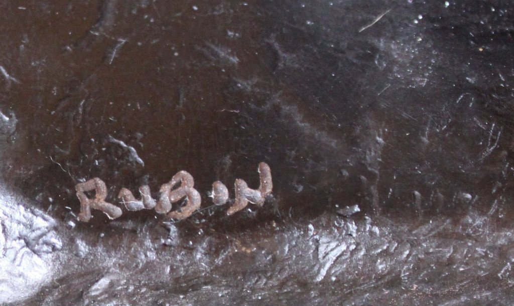 Erotic Athletic Male Nude Bronze Sculpture - 9