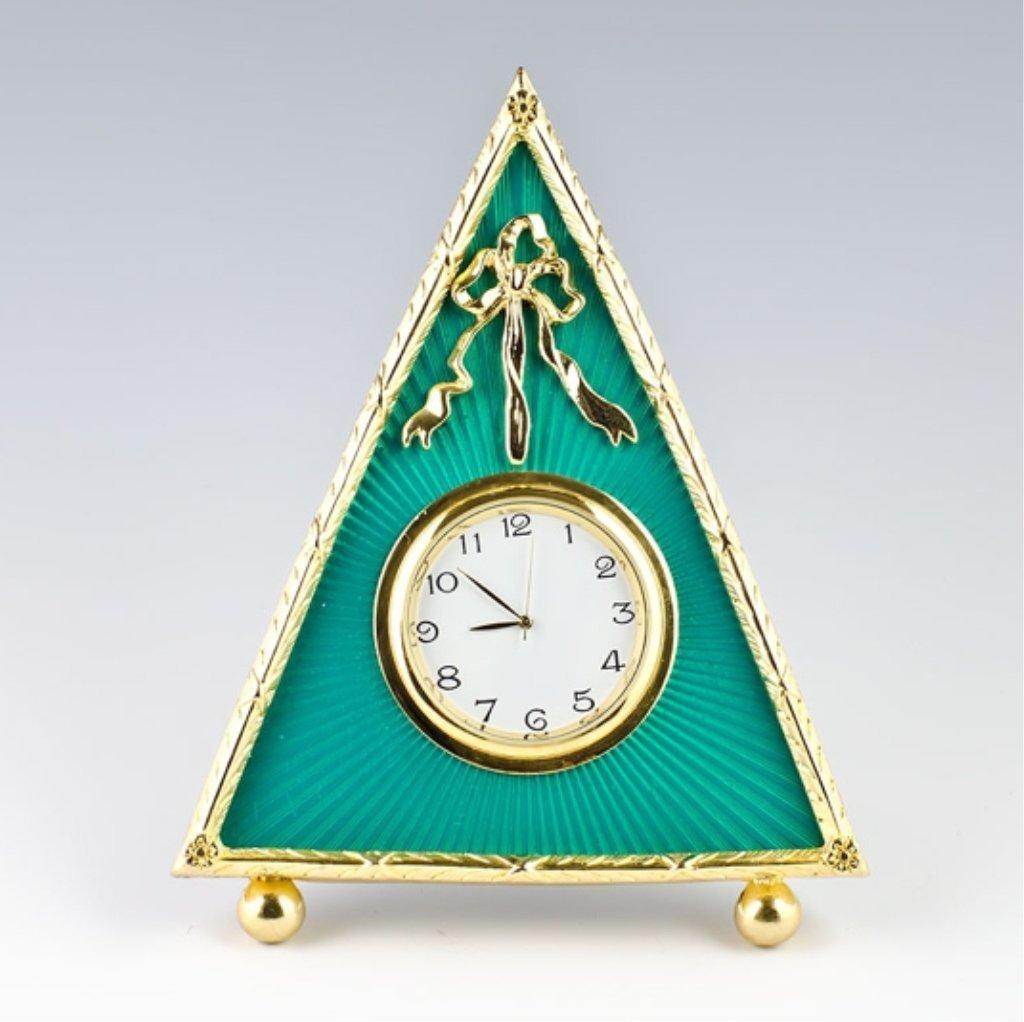 Green Triangle Framed Faberge Inspired Frame