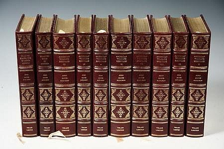 (10 VOL SET) AUDUBON - Selected Quadrupeds of Nort