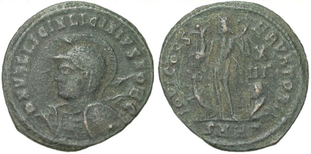 Rare Ancient Roman Licinius, Caesar Coin