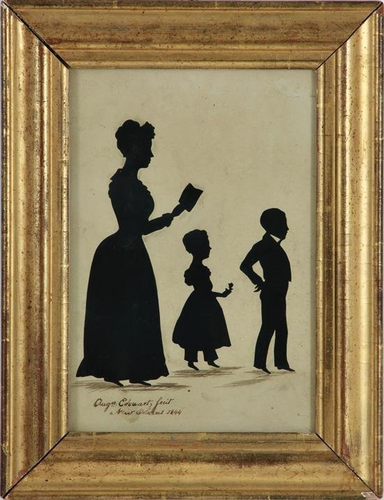New Orleans RARE Silhouette (1844)