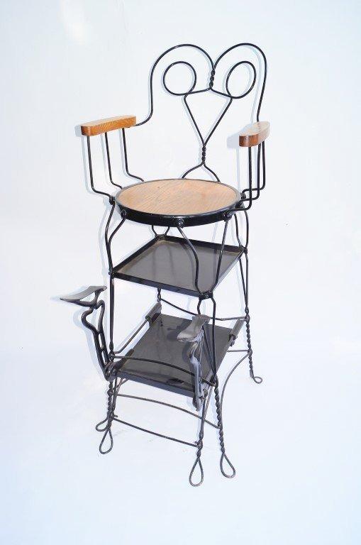 American Shoe Shine Chair