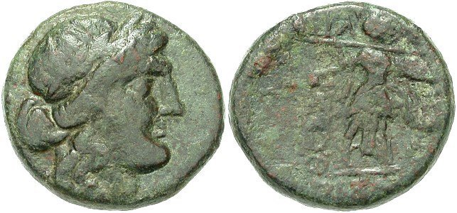 Ancient Greek Thessalian League Coin