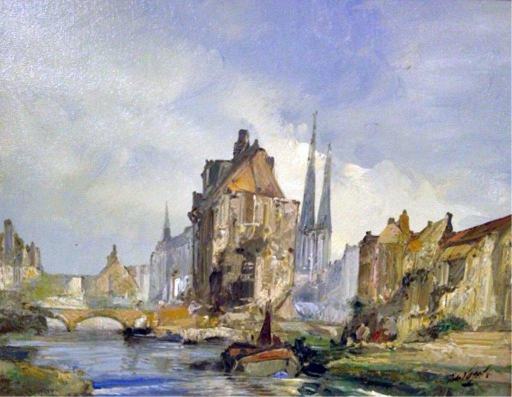 John Fogel cityscape.