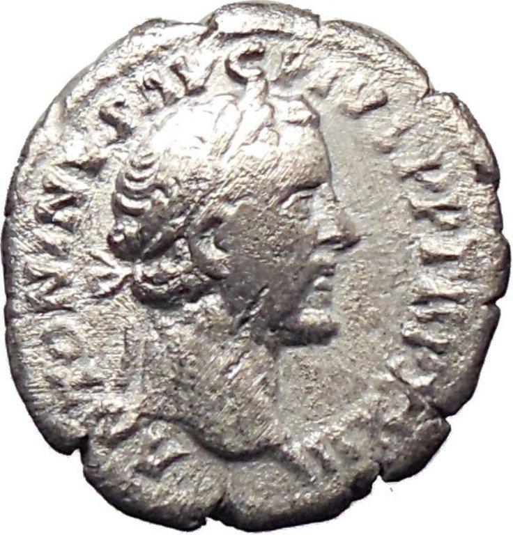 A Roman Imperial Silver Denarius, Antonius Pius