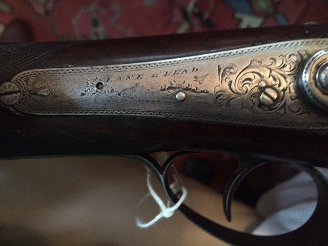 1840 Lane & Reed Boston Half Stock Long Rifle - 10