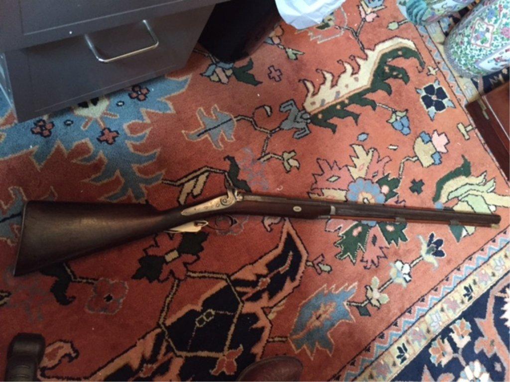1840 Lane & Reed Boston Half Stock Long Rifle