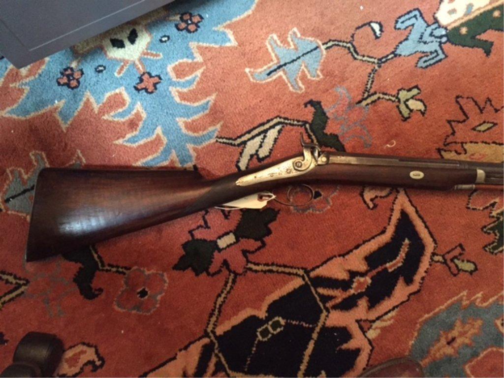 1840 Lane & Reed Boston Half Stock Long Rifle - 2