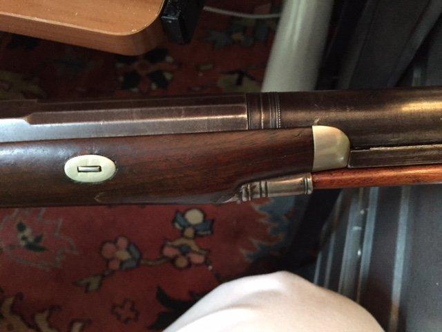 1840 Lane & Reed Boston Half Stock Long Rifle - 5