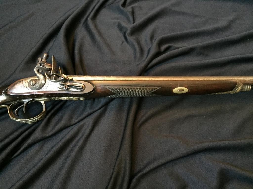 18thc Continental Double Barrel Shotgun - 8